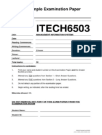 Itech6503 Mis assignment