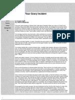 The Rice Flour Gravy Incident