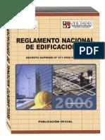 Reglamento Nacional de Edificaciones d.s. Nº 011-06-V