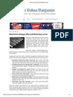 Metal Deck Sebagai Alternatif Bekisting Lantai