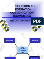 usage of ict in every day life