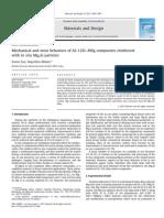 2011 Mat and Design in Situ Al–12Si–XMg Mg2Si