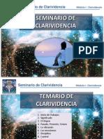 Seminario Clarividencia
