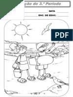 Fichas Avaliação Global 3ºano - Estudo Meio Língua Portuguesa e Matemática