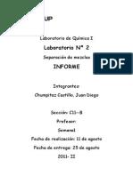 Laboratorio de Química II1