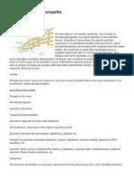 Brachial Plexus Neuropathy