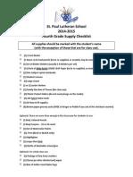4th grade 2014-15