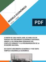 Modelo Económico 1910-1935