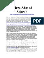 Mirza Ahmad Sohrab the Secretary of Abdul Baha