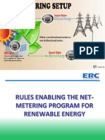 Rules Enabling TheNet-Metering Program For Renewable Energy