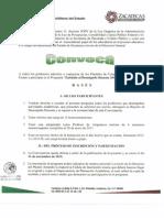 Convocatoria EDD 2013