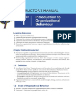 Instructor's Manual - Chapter 1