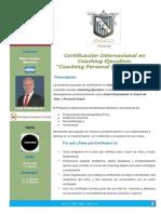 Certificacion Internacional en Coaching Personal y Empresarial Version Final