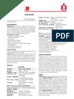 Low Modulus 1 Part Polyurethane Sealant