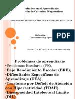 Sintesis Dificultades de Aprendizaje Junta de Andalucia
