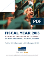 Fiscal Year 2015 Adopted Budget and Financial Statements