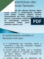 Caracteristicas Das Ciencias Factuais