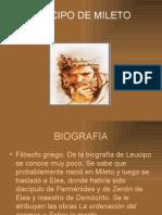Leucipo de Mileto 1p