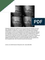 Radiographs at Baseline and 2