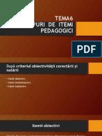 Tipuri de Itemi Pedagogici1