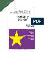 Revista Política Teoría y Acción No. 1