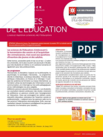 sciences de l'education