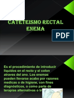 Cateteismo Rectal