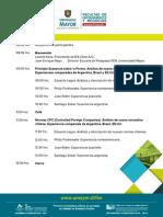 Programa Seminario Internacional Reforma tributaria