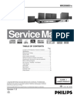 PHILIPS+MX-2500D+Service+Manual+Eng
