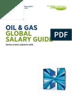 Guia de Sueldos Por Actividad 2014 Oil&Gas