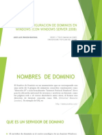 Configuracion de Dominios en Windows (Con Windows