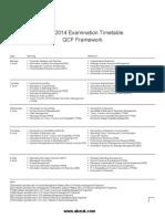 QCF Timetable Jun14
