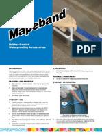 Mapeband TDS EA