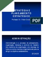 Estratégia e Planejamento Estratégico i