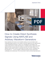 how to create signals matlab