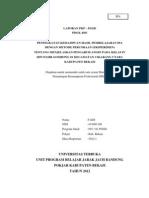 Laporan Pkp Ut 2012 Kelas IV Mapel Ipa