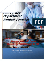 Emergency Department Unified Protocol .Dr.hamid Shaalan