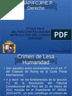 Art. 319 Genocidio Espinoza