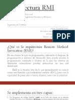 Arquitectura RMI