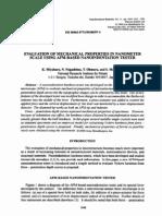 1999-Nano Struct Mat-mechanical Properties in Nanometer Scale