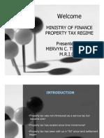 Property Tax Regime Explained