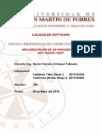 Implementación de Un Proceso de La NTP - IsO_IEC 12207
