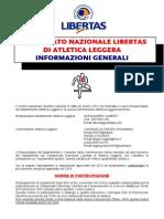 regolamento atletica - informazioni generali aggiornamento 2014