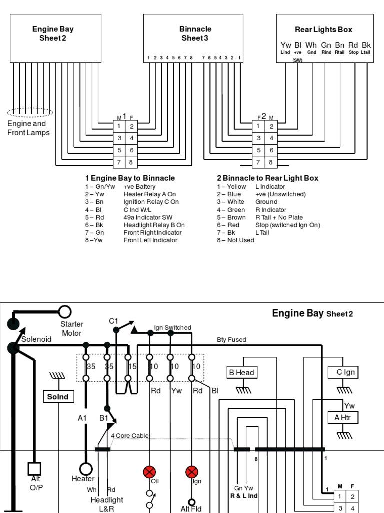 Dexta Electrical Wiring Diagram 8 Cylinder Ohv Engine