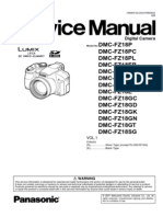 Panasonic Lumix DMC-FZ18 Service Manual