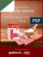 50 de Retete Inscrise La Festivalul Blogurilor Gustoase