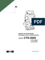 Manual Da Topcon CTS 3000