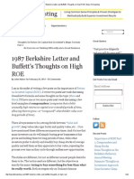 1987 Berkshire Letter and Buffett's Thoughts on High ROE _ Base Hit Investing