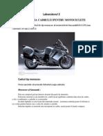 Laborator 2 motociclete