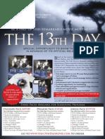 Screening Program The 13th Day Fatama
